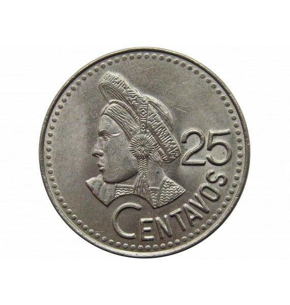 Гватемала 25 сентаво 1993 г.