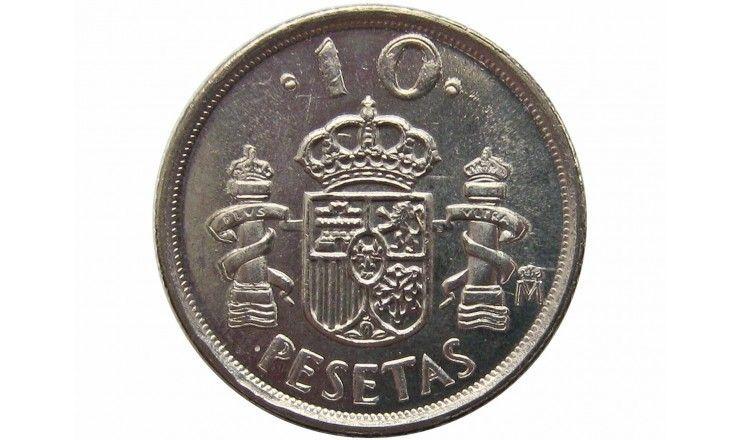 Испания 10 песет 1999 г.