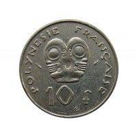 Французская Полинезия 10 франков 1983 г.