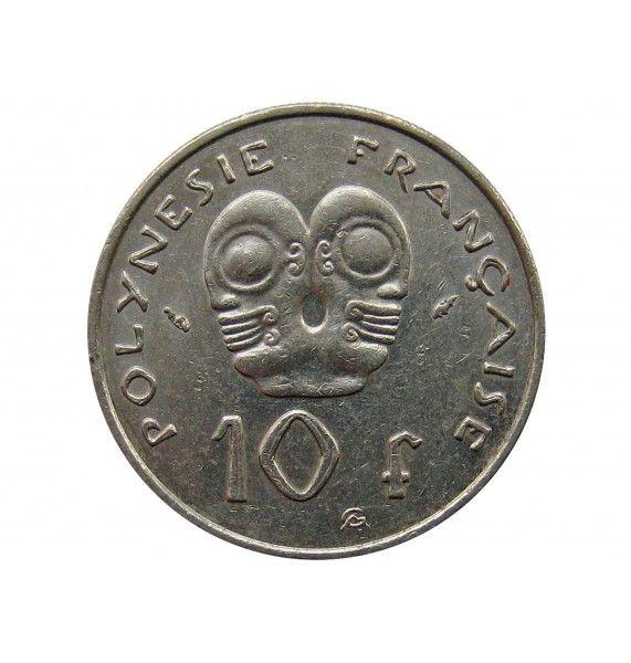Французская Полинезия 10 франков 1991 г.