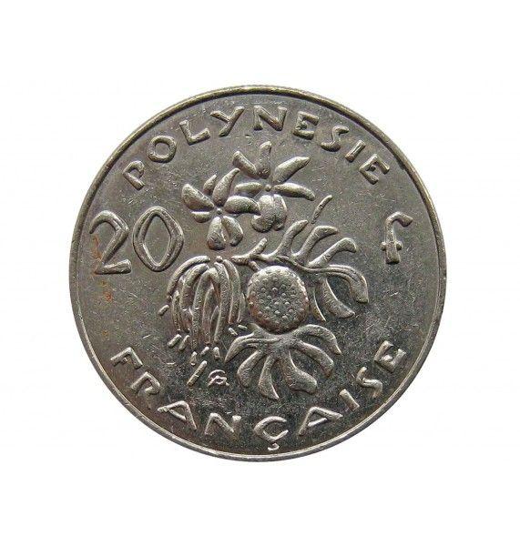 Французская Полинезия 20 франков 2004 г.