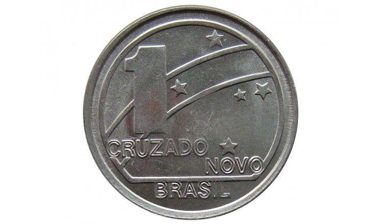 Бразилия 1  крузадо 1989 г. (100 лет Республике)
