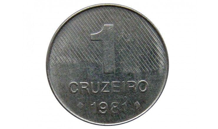 Бразилия 1 крузейро 1981 г.