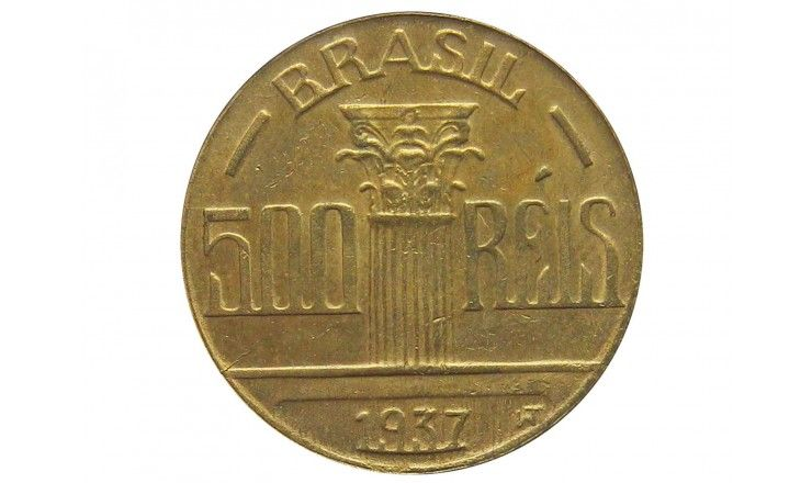 Бразилия 500 рейс 1937 г.