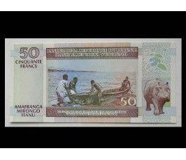 Бурунди 50 франков 2003 г.