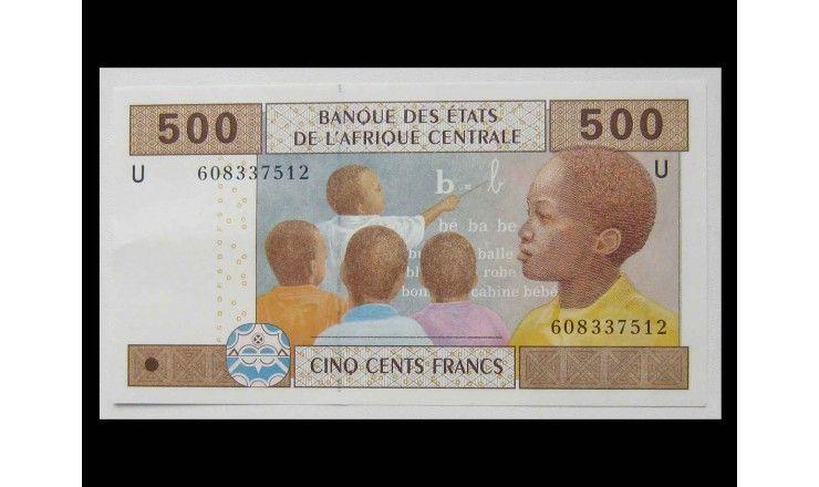 Центральная Африка (Камерун) 500 франков 2002 г.