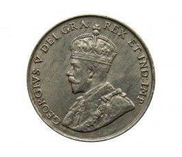 Канада 5 центов 1922 г.