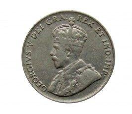 Канада 5 центов 1924 г.