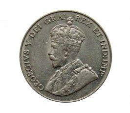 Канада 5 центов 1929 г.