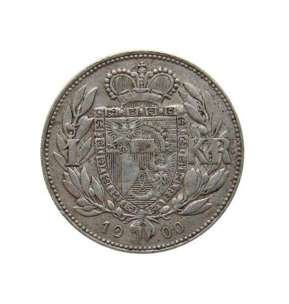 Лихтенштейн 1 крона 1900 г.