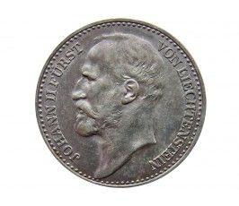 Лихтенштейн 1 крона 1904 г.