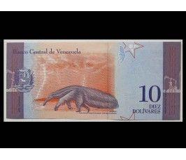 Венесуэла 10 боливар 2018 г.