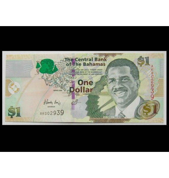 Багамские острова 1 доллар 2008 г.