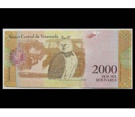 Венесуэла 2000 боливар 2016 г.