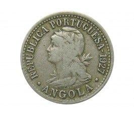 Ангола 10 сентаво (2 макута) 1927 г.