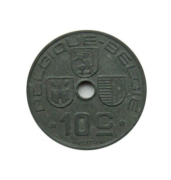 Бельгия 10 сантимов 1942 г. (Belgique-Belgie)