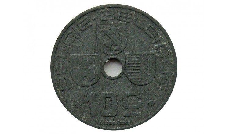 Бельгия 10 сантимов 1944 г. (Belgie-Belgique)