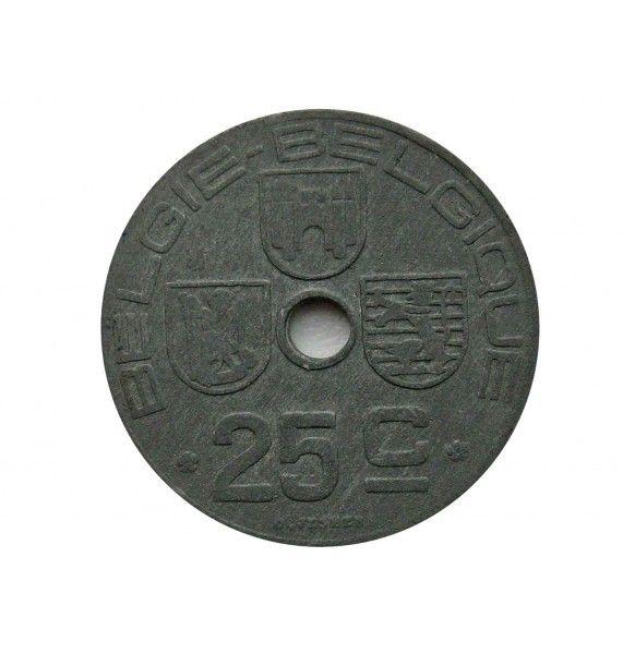 Бельгия 25 сантимов 1942 г. (Belgie-Belgique)
