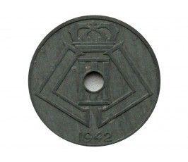 Бельгия 25 сантимов 1942 г. (Belgique-Belgie)