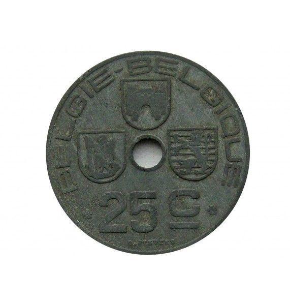 Бельгия 25 сантимов 1943 г. (Belgie-Belgique)