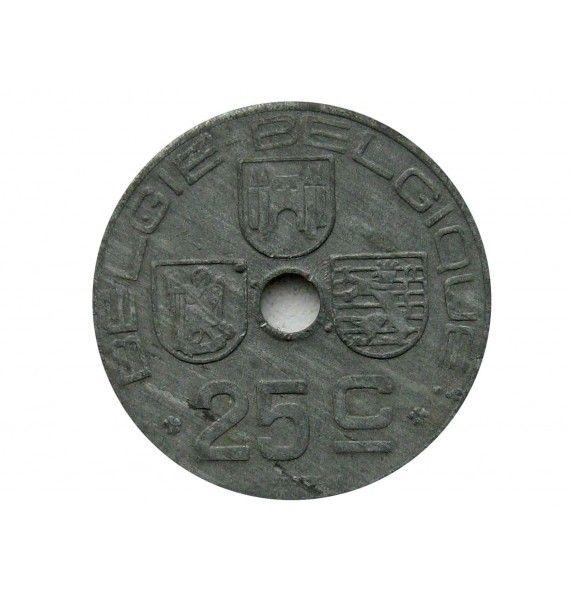 Бельгия 25 сантимов 1944 г. (Belgie-Belgique)