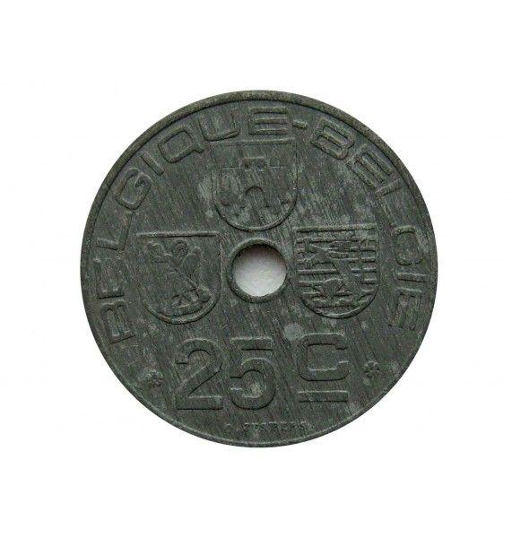 Бельгия 25 сантимов 1946 г. (Belgique-Belgie)