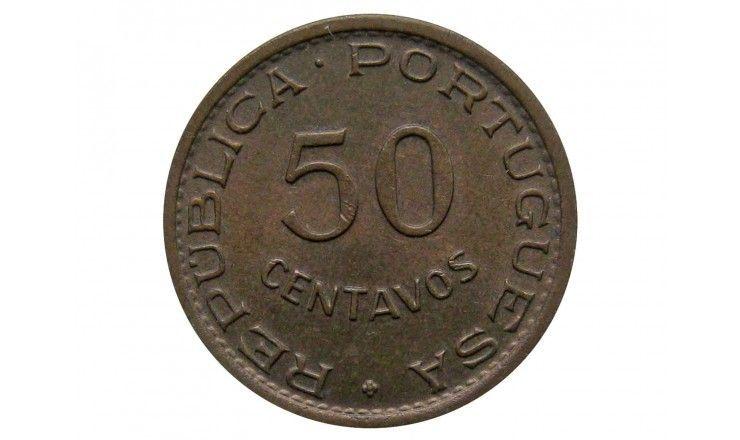 Кабо-Верде 50 сентаво 1968 г.