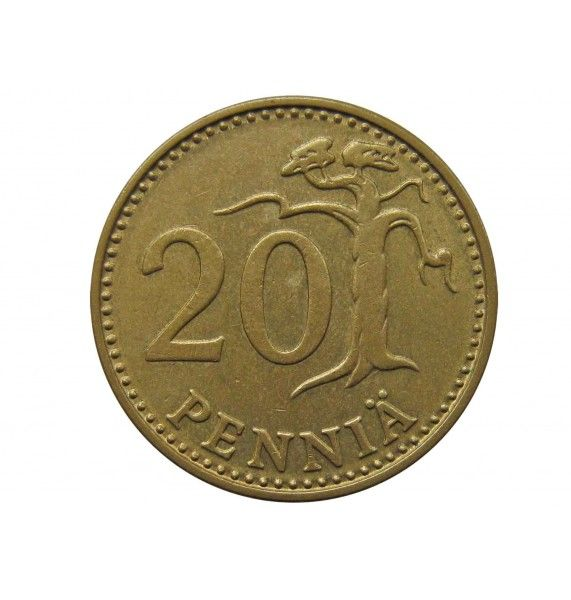 Финляндия 20 пенни 1974 г.