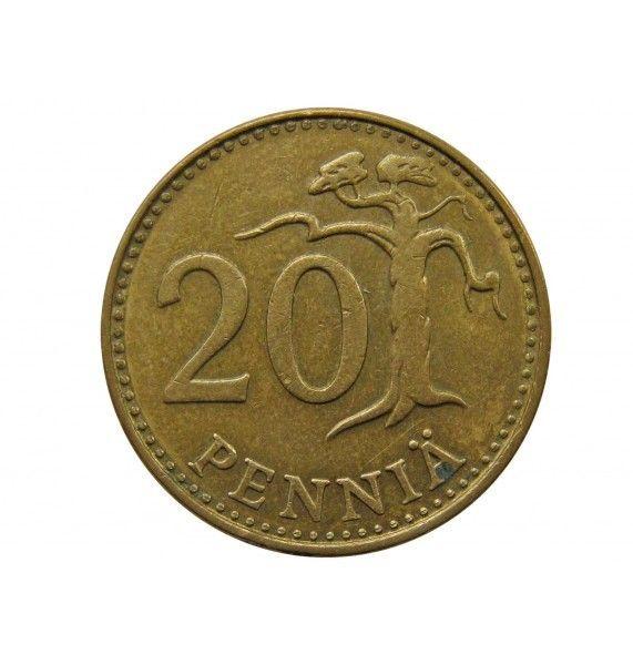 Финляндия 20 пенни 1981 г.