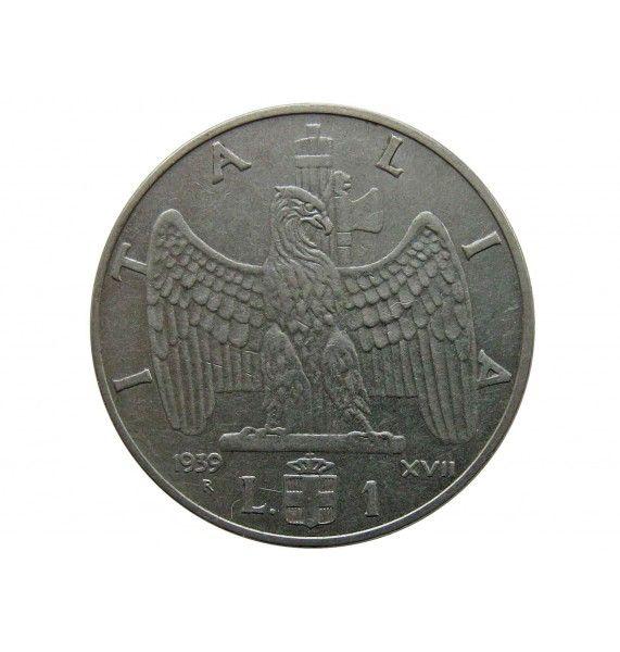Италия 1 лира 1939 г. (магнитная)