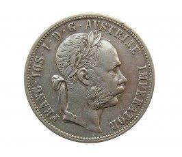 Австрия 1 флорин 1879 г.