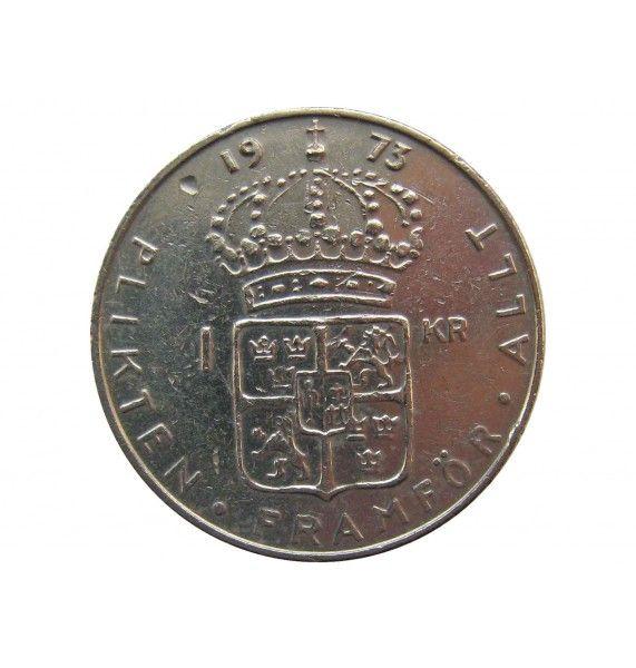Швеция 1 крона 1973 г.