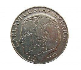 Швеция 1 крона 1979 г.