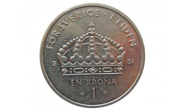 Швеция 1 крона 2008 г.
