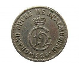 Люксембург 5 сантимов 1924 г.