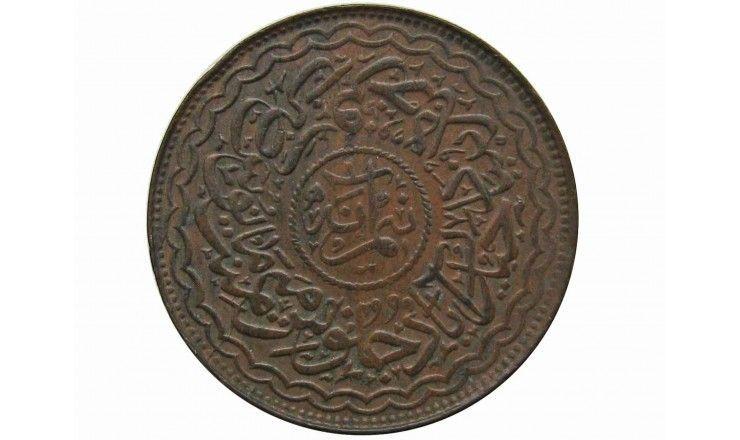 Хайдарабад 1/2 анны 1324/40 (1906) г.