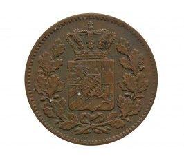 Бавария 2 пфеннига 1871 г.