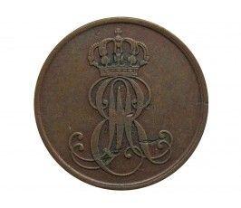 Ганновер 2 пфеннига 1846 г. A