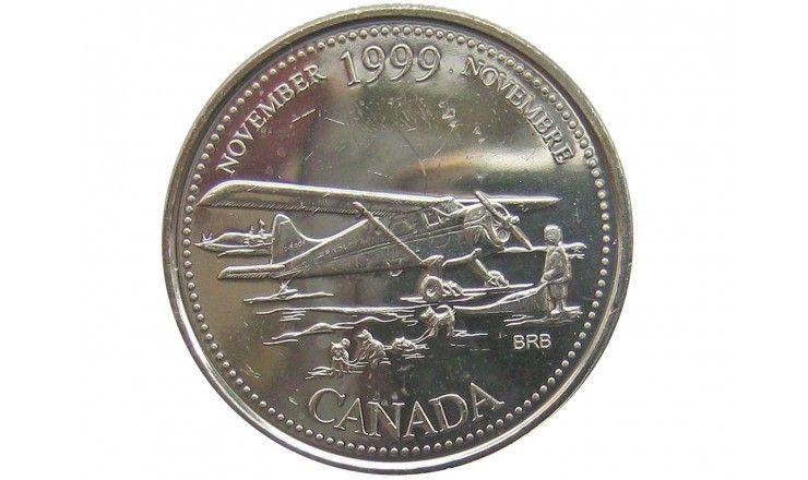Канада 25 центов 1999 г. (Ноябрь)