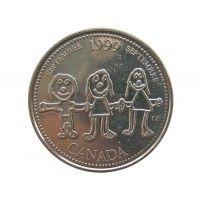Канада 25 центов 1999 г. (Сентябрь)