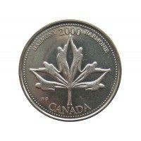 Канада 25 центов 2000 г. (Гармония)