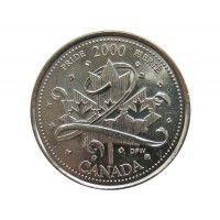 Канада 25 центов 2000 г. (Гордость)