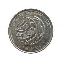 Канада 25 центов 2000 г. (Изобретательность)