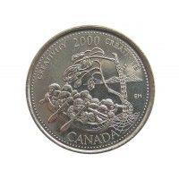 Канада 25 центов 2000 г. (Креативность)