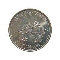 Канада 25 центов 2000 г. (Мудрость)