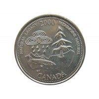 Канада 25 центов 2000 г. (Природное наследие)