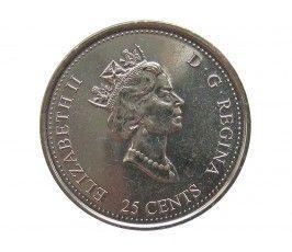 Канада 25 центов 2000 г. (Свобода)