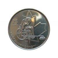 Канада 25 центов 2007 г. (Кёрлинг на колясках)