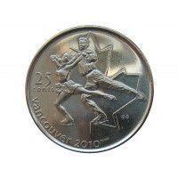 Канада 25 центов 2008 г. (Фигурное катание)