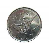 Канада 25 центов 2008 г. (Сноуборд)
